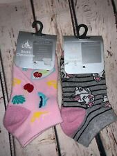 WHITE,BLACK TOP LACED COTTON MULTI COLORS GIRL ANKLE LACE SOCKS Size 0-0 //4-6