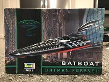 REVELL 1:25 SCALE BATBOAT MODEL | BATMAN FOREVER | NO. 6722 | BAT BOAT | 1995