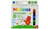 10 Malinos Textilzauber Stifte Textilstifte Zauberstifte NEU 300010