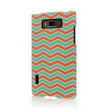 MPERO SNAPZ Series Rubberized Case for LG Splendor / Venice US730 - Mint Chevron