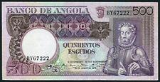 Angola 500 escudos 1973.06.10. Luiz de Camoes & Rock Formation P107 aUNC