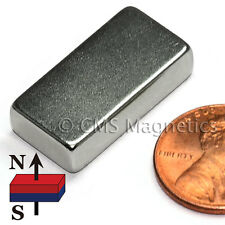 "N52 Rectangular Neodymium Magnet 1""x1/2""x1/4"" Rare Earth Magnet 50 PC"
