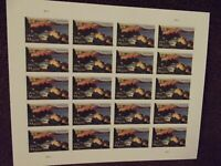 Maine Bicentennial USPS Mint State, Never Hinged, Never Used, Pane of 20 Stamps