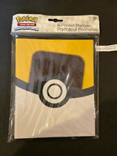 Pokemon ULTRA PRO  4 POCKET (New design) ULTRA BALL  Card Album Binder Portfolio