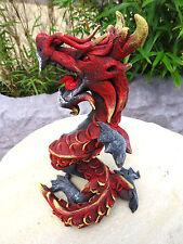 Holz Figur Drache Dragon Fantasy Asien Sammlen Dekoration Geschenk Handarbeit#1