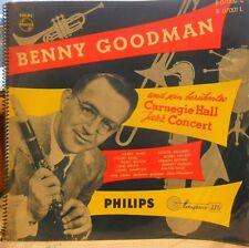 Benny Goodman – Carnegie Hall Jazz Concert - LP 60er D - Philips 07000/7001