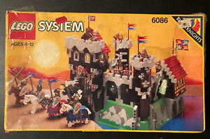 Lego Set Black Knights Dungeon Masters Castle 1992 With Box + Instructions Rare