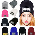 New Fashion Women's Men's Unisex Warm Winter Knit Hat cap Hip-hop Beanie Hats