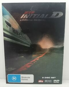 Initial D DVD Jay Chou Andrew Lau R4 LIKE NEWDVD FREE TRACKED POST