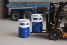 1/18 Scale Fuel Barrels (2) UNION 76 Fuel; Diorama items from Austin's Garage