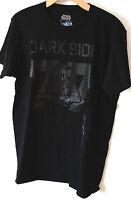 STAR WARS DARTH VADER 77 DARK SIDE GRAPHIC TEE T-SHIRT BRAND NEW MENS BLACK
