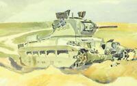 Orel Russland Winter 1942/43  zerstörter Soviet Panzer vom Kriegs-Berichter