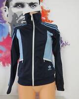 Adidas originals blue retro 1980ies style women's tracksuit size S EU36 UK8