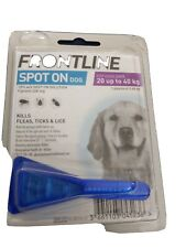 FrontlineSpot On Flea large Dogs 20kg-40kg 1 Pipette Treatment Fast Post