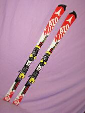 ATOMIC Redster SL FIS Norm RACE skis 158cm w/ Atomic X16 ski bindings on plates~