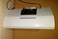 """GE® JV347H1WW 30"""" UNDER THE CABINET RANGE HOOD WITH 2 FREE NEW FILTERS WHITE"""
