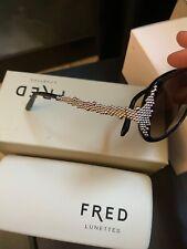 Nouveau Fred SAINTE HELENE 206 115 or authentique lunettes de soleil avec étui