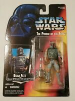 Kenner Star Wars The Power of the Force: Boba Fett Action Figure Vintage
