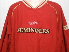 NWT - Florida State Seminoles Heisman Collection Pullover Jacket by Reebok, XXL