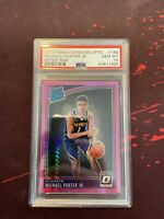 2018 Panini Donruss Optic Michael Porter Jr HYPER Pink Prizm RC PSA 10 GEM
