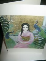 "BIG EYES 1986 Margaret Keane ""MADAM BUTTERFLY"" Greeting Card/New with Envelope"