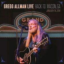 Gregg Allman Live: Back to Macon, GA by Gregg Allman (CD, Aug-2015, 2 Discs, Rounder)