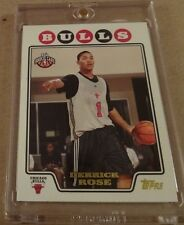 Derrick Rose Rookie, 2008-09 Topps Gold #196 Mint Centered RC Chicago Bulls