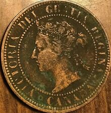 1882 H CANADA LARGE CENT PENNY LARGE 1 CENT COIN