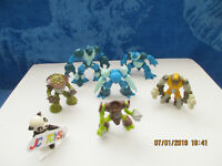 Gormiti Giochi Preziosi* Lot of (6) Mini Action Figures* S.p.A. (#233)