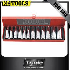 """KC TOOLS Deep Socket Set 12 Piece 1/2"""" Drive 10-22mm A13695"""