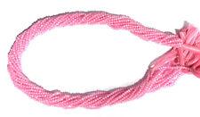 """Pink Zircon Gemstone Rondelle Faceted 2-2.5 mm Beads 12.5"""" Loose Sreand MJU245"""