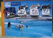 2010 Winter Olympic  North west Territories,Yukon,Nunavut Dog Sled RARE