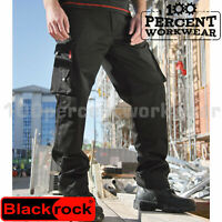Heavy Duty Hard Wearing Mens Work Trousers Pants Cargo Combat Knee Pad Pockets