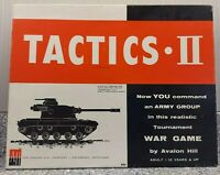 Vintage Tactics II Realistic War Game Avalon Hill Rare Original 1961 Version