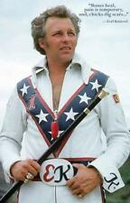 Evel Knievel MotorCycle Photo/Art/Print Quote Poster 11x17 Brand New Clearance!!