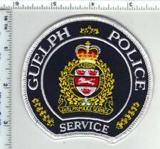 Guelph Police Service (Ontario, Canada) Shoulder Patch from the 1980's