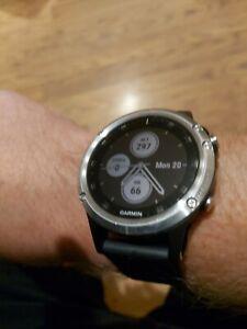 Garmin Fenix 5 Plus Premium Multisport GPS Smartwatch with Maps, Music, HR.