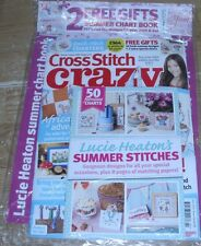Cross Stitch Crazy magazine #190 JUN 2014 + Lucie Heaton's Summer Stitches &