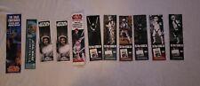 Star Wars CELEBRATION VII Exclusive Promo lot of 11 Bookmarks 501st Leia