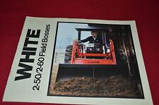 White 2-50 2-60 Tractor Dealer's Brochure PBPA