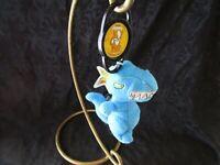 Neopets BLUE GRARRL Plush with KOOKITH Petpet Clip 2005 McDonalds Dinosaur T-Rex