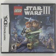 LEGO Star Wars III: The Clone Wars (Nintendo DS, 2011)