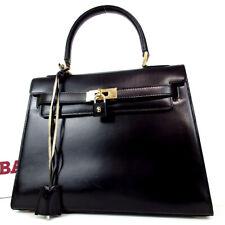 Authentic BALLY Kelly type Handbag leather[Used]