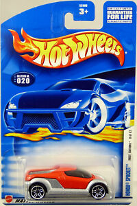 Hot Wheels Honda Spocket 2002 First Editions #52905 New in Package Red 1:64