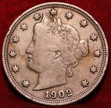 1909 Philadelphia Mint Liberty Nickel