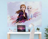 Décoration Murale Frozen 2 160x110cm Enfants Chambre Disney Géant Bleu Taille