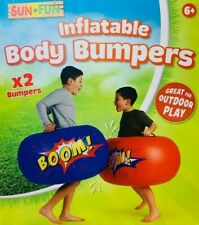 LARGE Childrens Outdoor Inflatable Body Boppers Bumpers - Set of 2 Giant