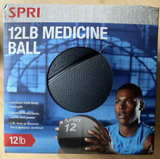 SPRI Weighted Medicine Ball 12 lb Pound - BRAND NEW