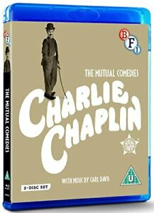 Charlie Chaplin: The Mutual Films Collection (Limited Edition Blu-ray [DVD]