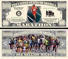 Le MARATHON - BILLET 1 MILLION DOLLAR US ! Collection Sport Jogging Footing